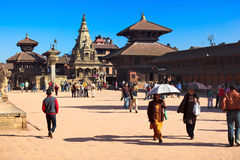 Bhaktapur Durbar Square Stock Photos