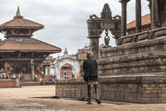 Bhaktapur Durbar Square temples, Nepal Royalty Free Stock Image