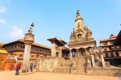 Bhaktapur Durbar Square Vatsala Durga Palace Close Royalty Free Stock Image