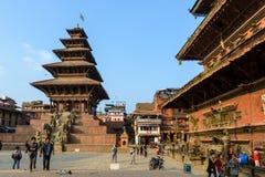 Bhaktapur, Népal Photographie stock