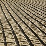 BHAKTAPUR, NÉPAL - usine locale sur place de brique Image libre de droits