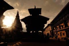Bhaktapur, Nepal Royalty-vrije Stock Fotografie