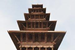 Bhaktapur, Nepal Stock Afbeelding
