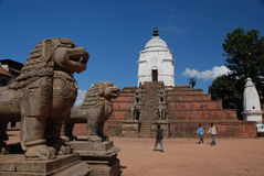 bhaktapur Nepal kwadrat Obrazy Royalty Free