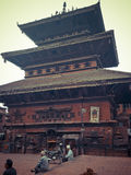 BHAKTAPUR, NEPAL. Bhaktapur, literally translates to Place of devotees. Also known as Bhadgaon or Khwopa, it is an ancient Newar city in the east corner of the Royalty Free Stock Photography