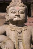 bhaktapur nyatapola寺庙 图库摄影