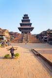 Bhaktapur Taumadhi Sq Nyatapola Pagoda Centered V Royalty Free Stock Photography