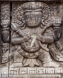 Bhaktapur wood carving Royalty Free Stock Image