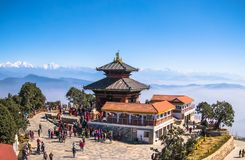 Bhaleshwor Mahadev Temple in Nepal royalty free stock images