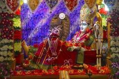 Bhalka Tirth και Prabhas Patan, Gujarat, Ινδία Ιερή θρησκευτική περιοχή όπου τα πόδια Λόρδου Krishna ` s διαπεράστηκαν από έναν κ στοκ εικόνα με δικαίωμα ελεύθερης χρήσης