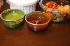 Bhalla de dahi avec le chutney images stock