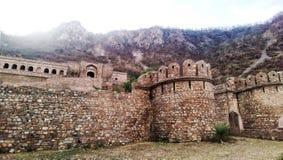 Bhangarh fort Arkivbild