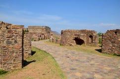 Bhangarh-Ruinen Lizenzfreies Stockbild