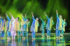 Bhangra taniec India Obraz Stock