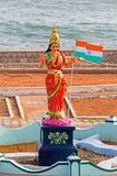 Bharat末多或母亲印度 免版税图库摄影