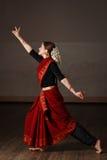 bharat舞蹈方次数natyam 库存图片
