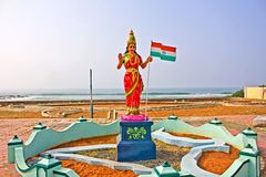 Bharat Mata or Mother India Royalty Free Stock Photo