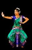 Bharata Natyam舞蹈方次数  免版税库存照片