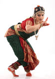 Bharatanatyam dance by the woman Stock Photo
