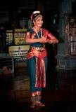 bharathanatyam Стоковая Фотография
