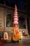 Bhavai performance - famous folk dance of Rajasthan Royalty Free Stock Photo