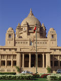 bhawan umaid för india jodhpur slottkunglig person Royaltyfria Bilder