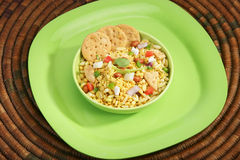Bhel Puri Stock Photo