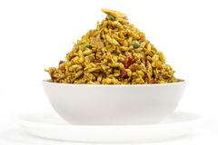 Bhel Puri. Indian special traditional street food `BHEL PURI stock images