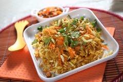 Bhelpuri,美味快餐 免版税库存图片