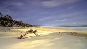 Bherwerre Beach from Bay of Plenty, Boodero National Park, Jervis Bay, ACT, Australia stock photos
