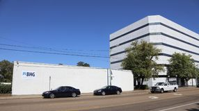 BHG nałogu traktowania centrum Memphis Fotografia Royalty Free