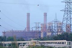 Bhilai钢铁厂, Bhilai Chhattishgarh 免版税库存图片