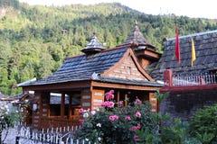 Bhimakali寺庙,Sarahan,喜马偕尔邦 免版税库存照片