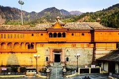 Bhimakali Hindu temple made of wood, Sarahan, India Royalty Free Stock Photos