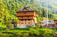 Bhimakali Hindu temple made of wood, Sarahan, India Royalty Free Stock Photography