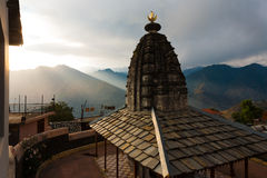 Bhimakali Temple Mountain Range Landscape H Royalty Free Stock Photos