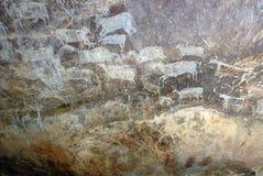 bhimbetka dziedzictwa miejsca świat Zdjęcie Stock