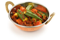 Bhindi Masala, Okra Curry Stock Images