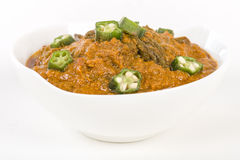 Bhindi Masala Stock Photo