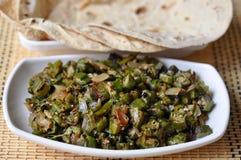 Bhindi or Vokra Fry Royalty Free Stock Image