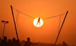 Bhoj affärsföretagfest i Bhopal Fotografering för Bildbyråer