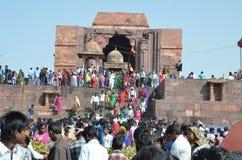 Bhojpur tempel Royaltyfria Foton