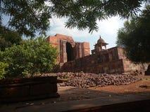 Bhojpur tempel Royaltyfri Bild