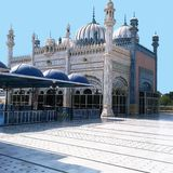 Bhong Masjid - Beste Moskee in de Wereld royalty-vrije stock afbeeldingen