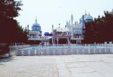 Bhong Masjid - migliore moschea nel mondo fotografia stock libera da diritti