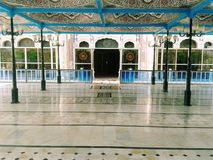 Bhong Masjid wśrodku widoku - Najlepszy meczet w świacie obrazy royalty free