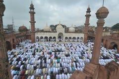 Bhopal, μουσουλμανικό τέμενος Moti Masjid στοκ εικόνες