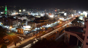 Bhopal, πόλη των λιμνών Στοκ φωτογραφία με δικαίωμα ελεύθερης χρήσης