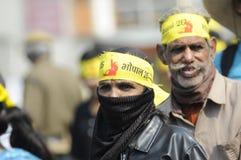 Bhopal agitation. Stock Photos