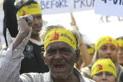 Bhopal agitation. Stock Image
